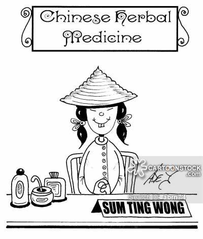 Chinese herbal medicine lady - Sum Ting Wong.