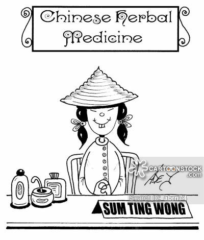Chinese herbal medicine lady - Sum Ting Wong.