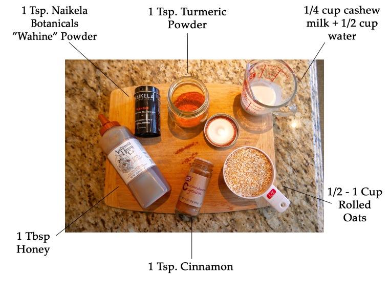 turmeric-oatmeal